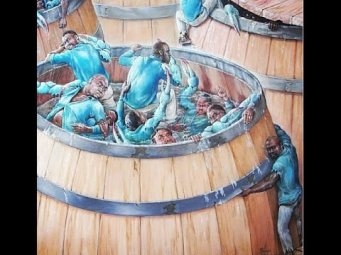Crab in a barrel