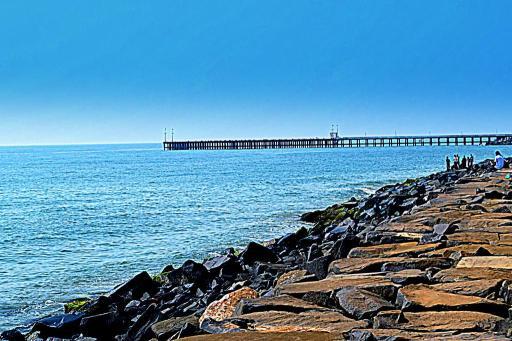 Pondicherry Beach, Pondicherry,India